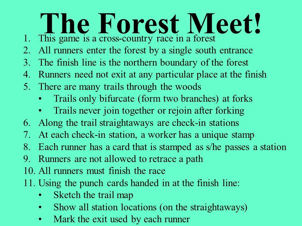 BobSueDebLouJenCalHalVal xxxxxxxx xxxxx xx x xxxx xx x xx x xxx x x The Forest Meet Sharing our Results