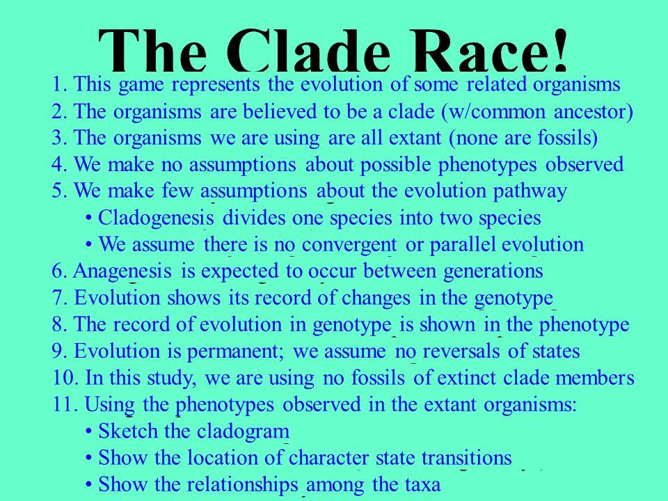 How do you DO cladistics.