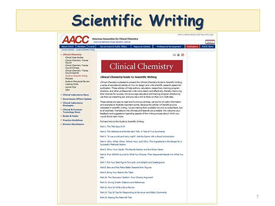 7 Scientific Writing
