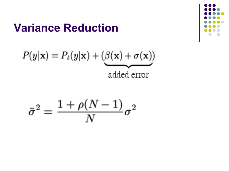 Variance Reduction