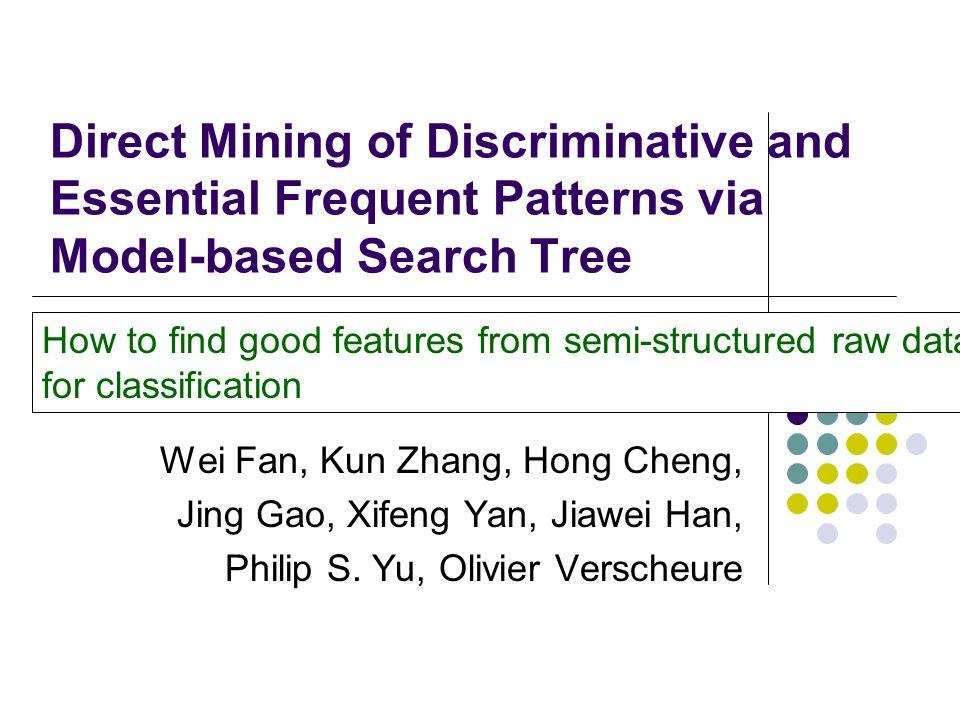 AUC of MbT, DT MbT VS Benchmarks Experimental Studies: Graph Mining (IV) 7 Wins, 4 losses