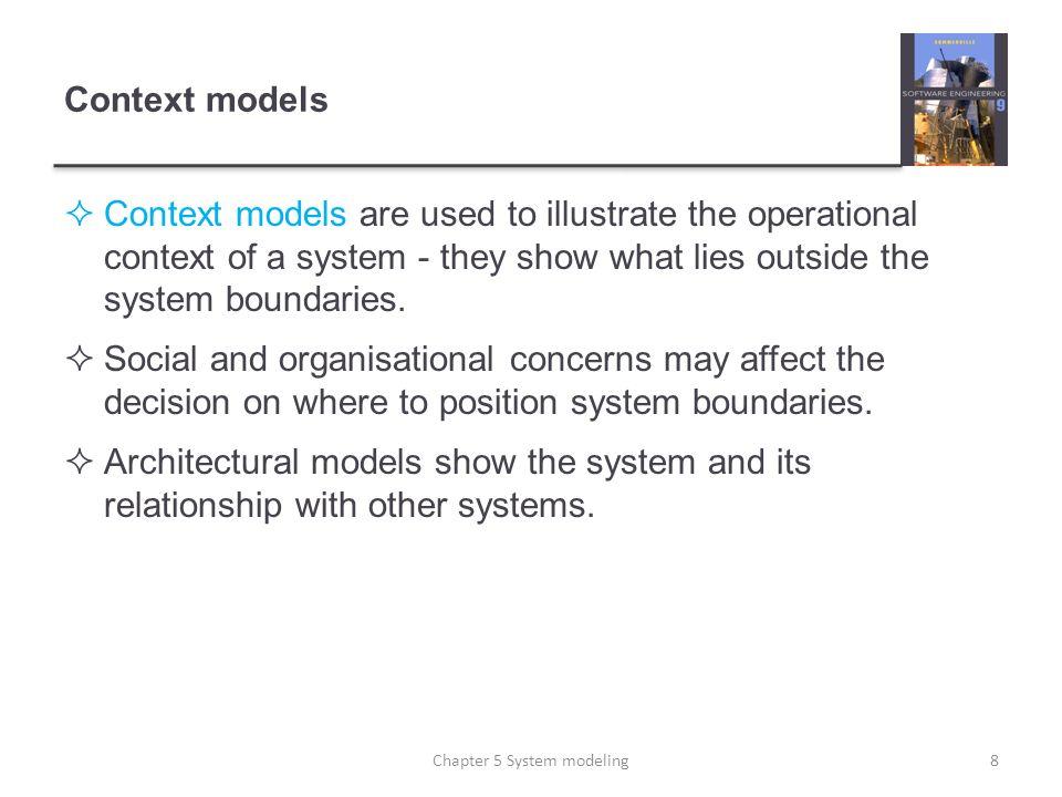 The aggregation association 29Chapter 5 System modeling