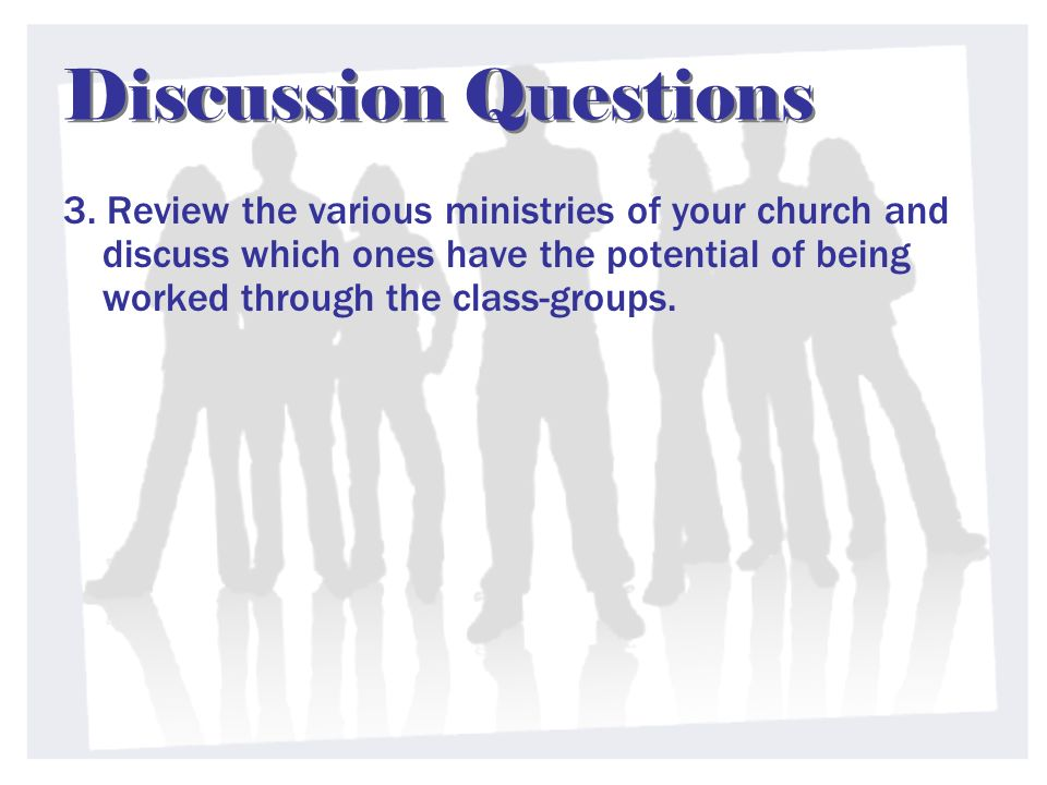 Discussion Questions 3.