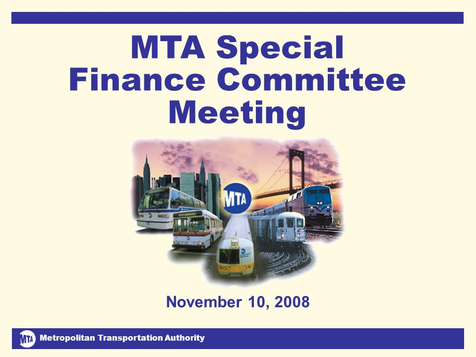 Metropolitan Transportation Authority November 10, 2008 2 July Financial Plan Problem and Solutions ($ in millions)