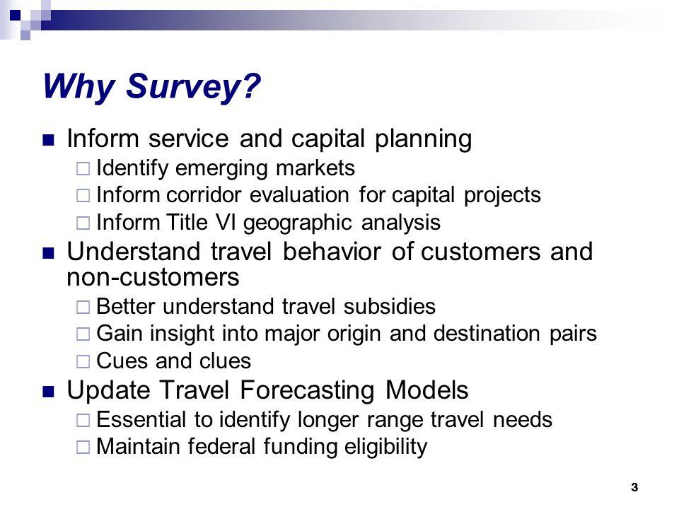 3 Why Survey.