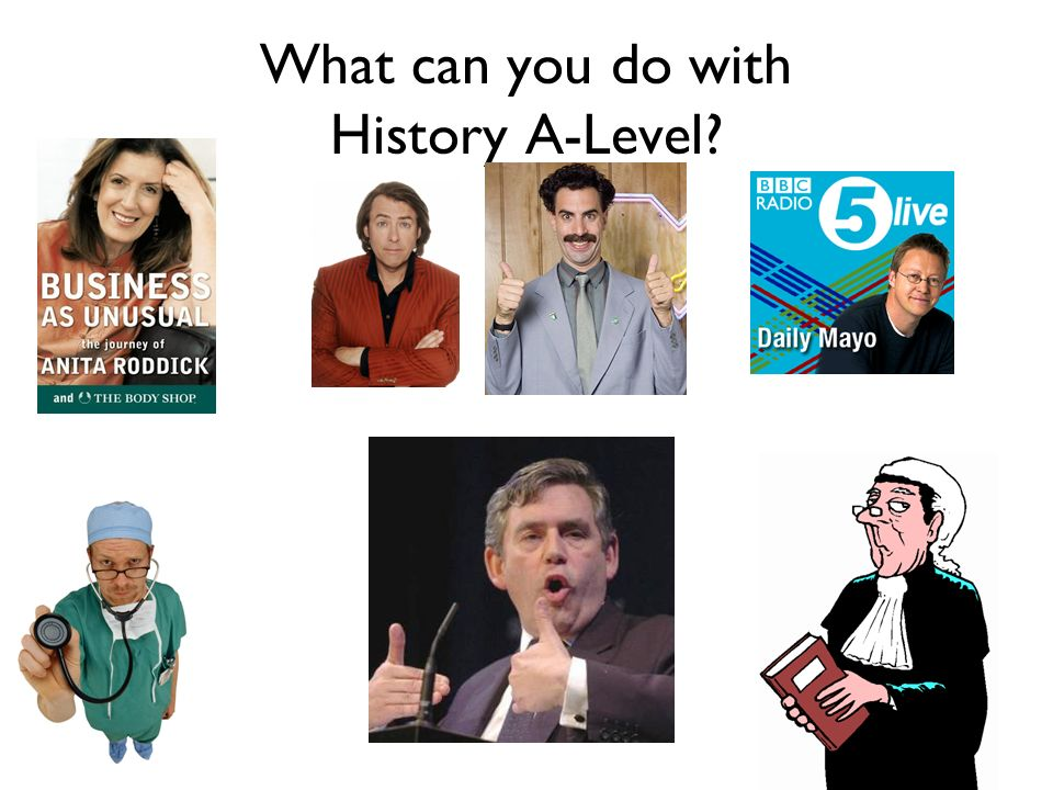 What can you do with History A-Level?