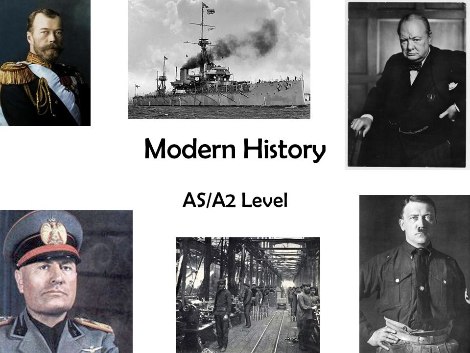 Modern History AS/A2 Level