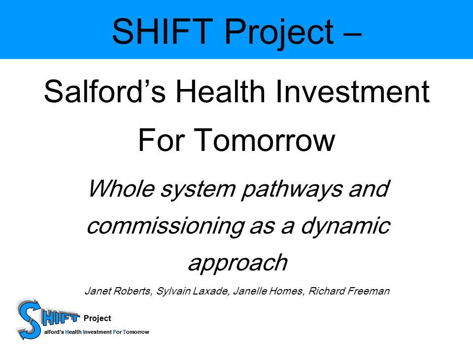 Project HIFT alfords Health Investment For Tomorrow Project HIFT alfords Health Investment For Tomorrow Overcoming barriers Skills –Energiser –Barometer –Programme Manager –Facilitator –Translator –Communicator