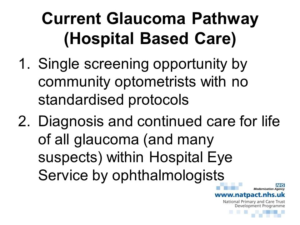 Estimated numbers of glaucomas in UK by age (1000s) Age