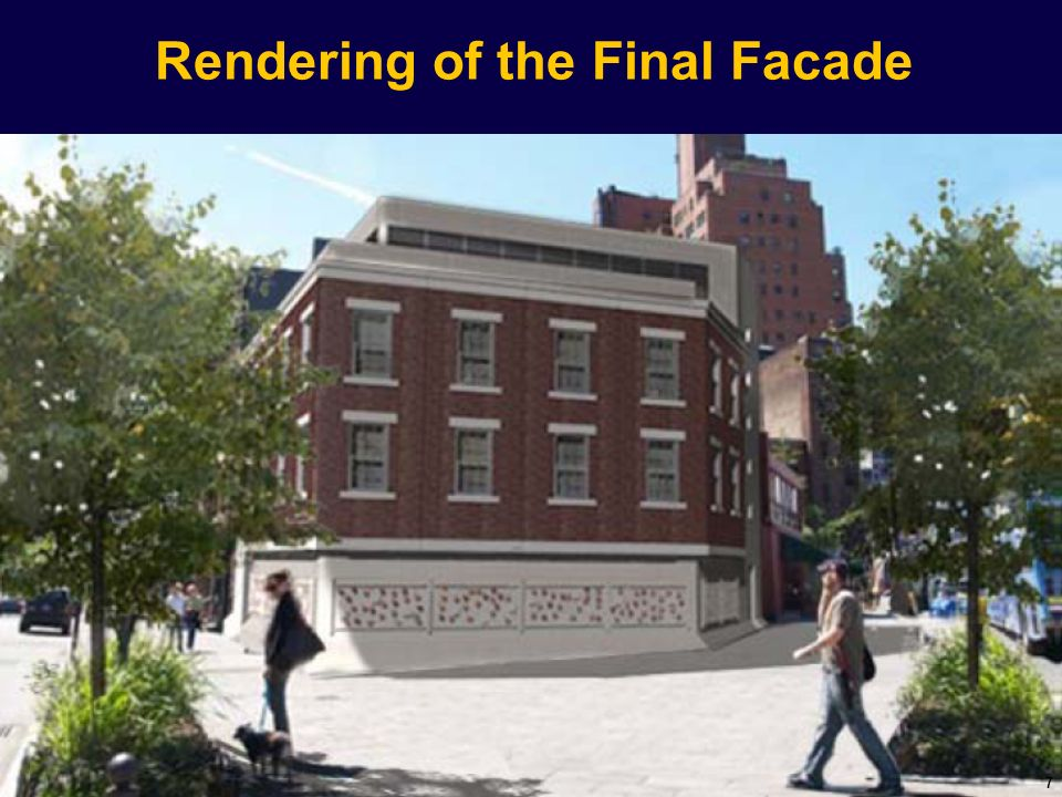 Rendering of the Final Facade 7
