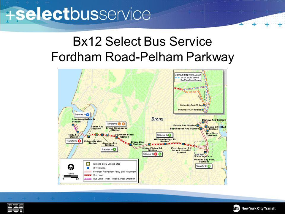 Bx12 Select Bus Service Fordham Road-Pelham Parkway