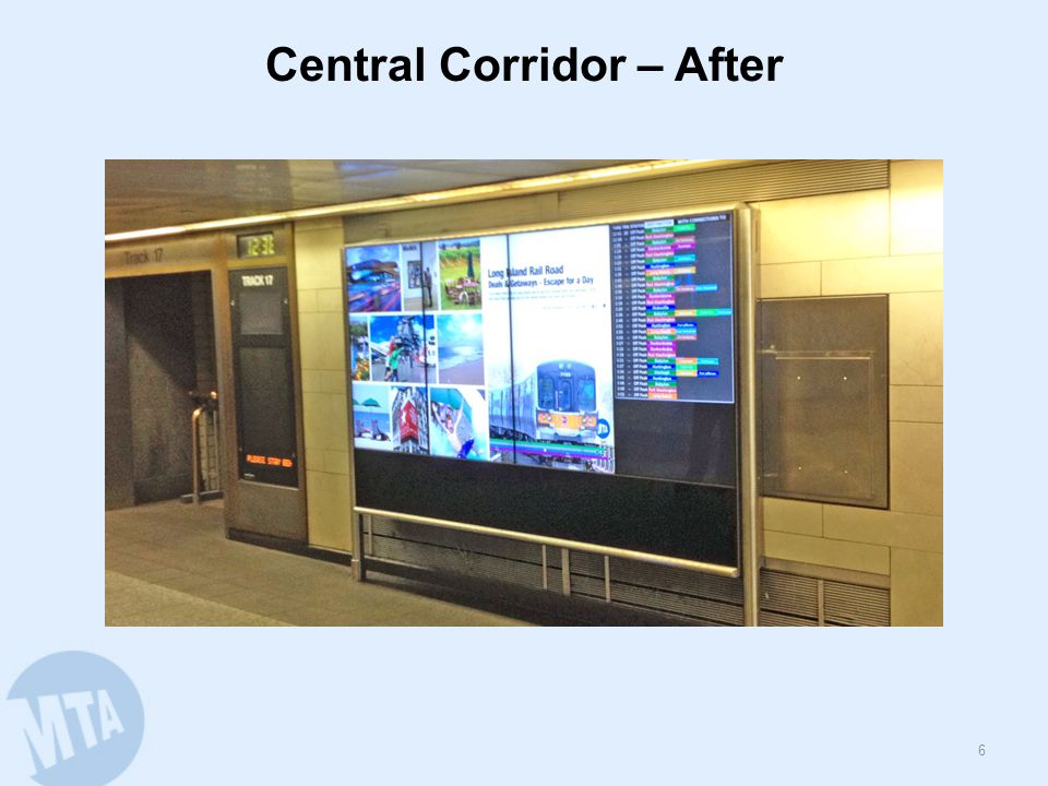 Central Corridor – After 6
