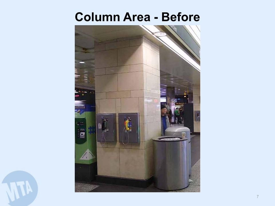 Column Area - Before 7