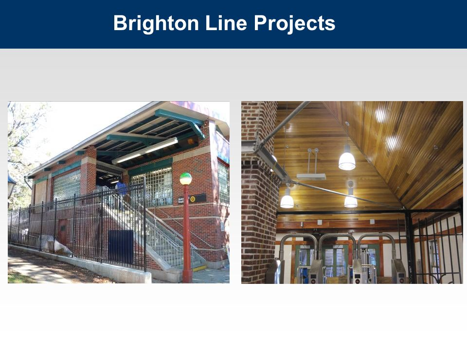 Brighton Line Projects