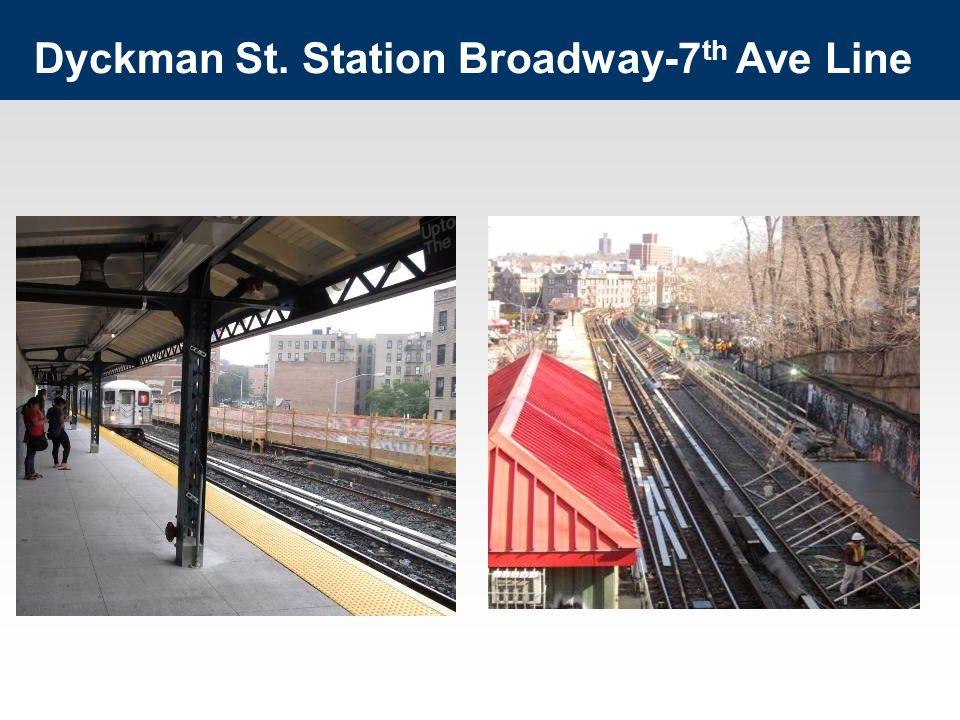 Dyckman St. Station Broadway-7 th Ave Line