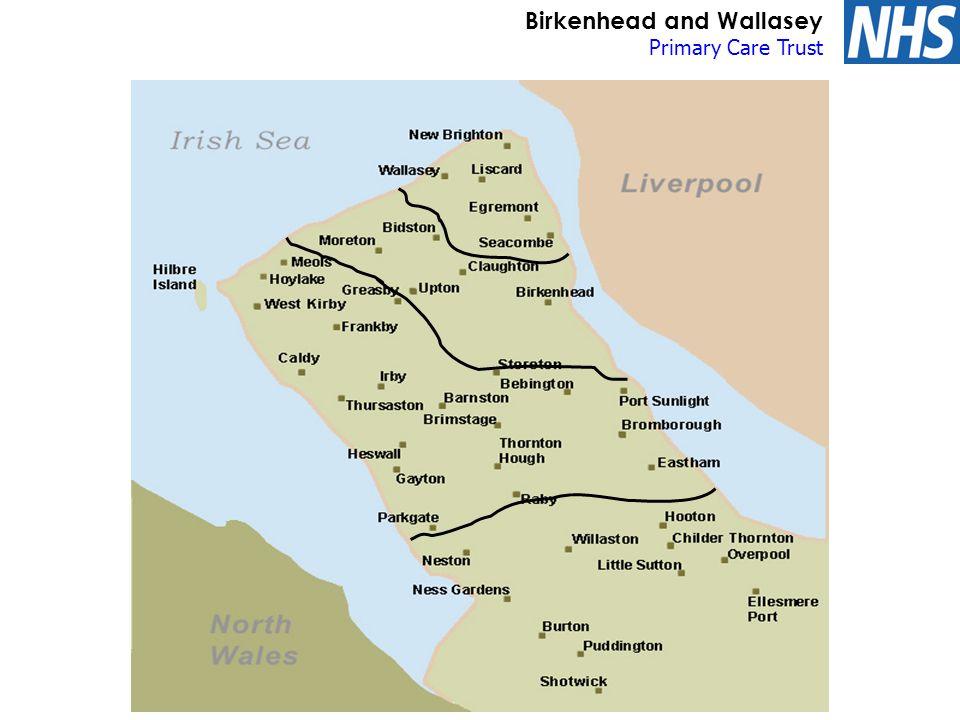 Birkenhead and Wallasey Primary Care Trust Six Centres Plan Victoria Central Hospital New Brighton Wallasey Village Egremont Leasowe Poulton