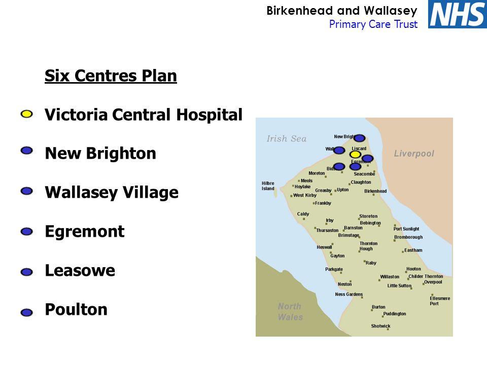 Birkenhead and Wallasey Primary Care Trust Future profile of GP premises Centre 1.
