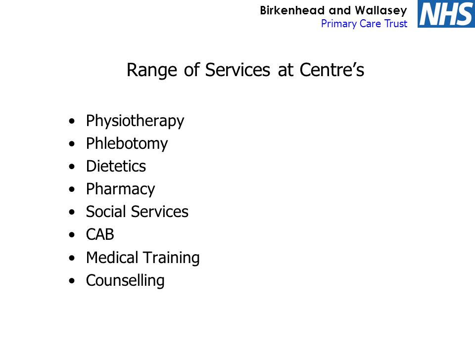Birkenhead and Wallasey Primary Care Trust WIIFM.