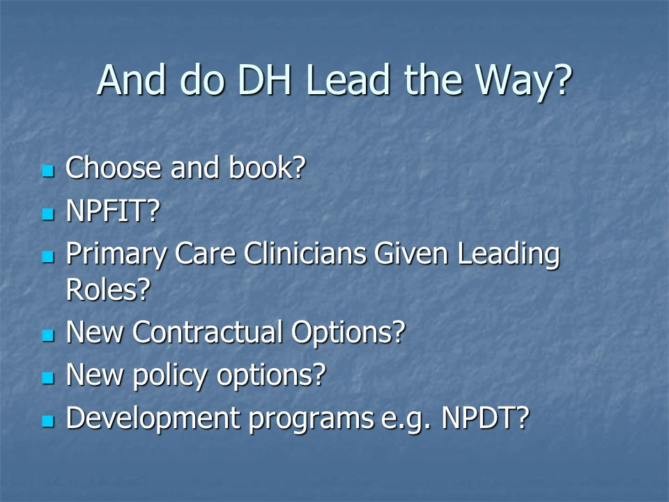 And do DH Lead the Way. Choose and book. Choose and book.