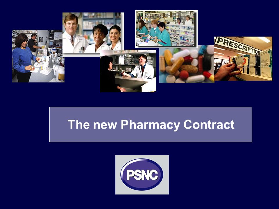 The new Pharmacy Contract
