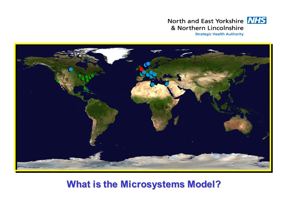 What is the Microsystems Model?