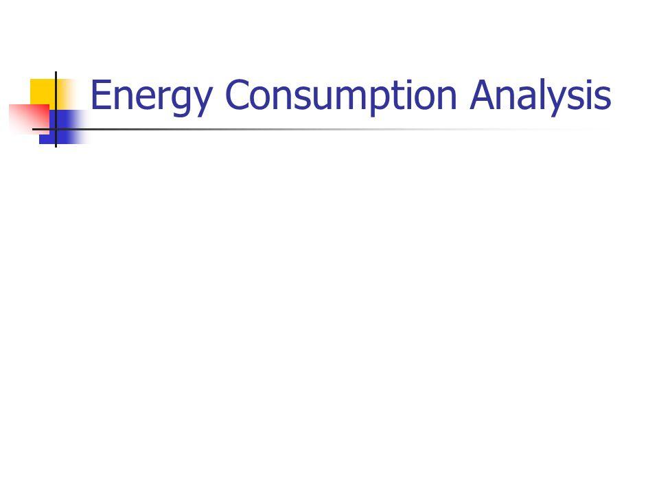 Energy Consumption Analysis