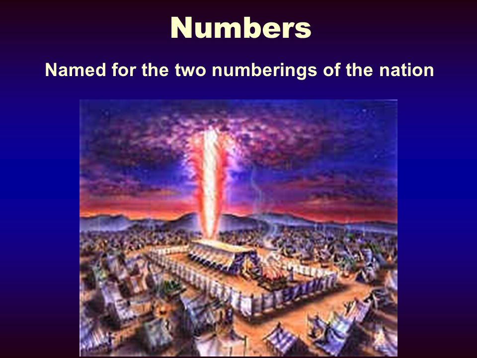 Numbers Named for the two numberings of the nation