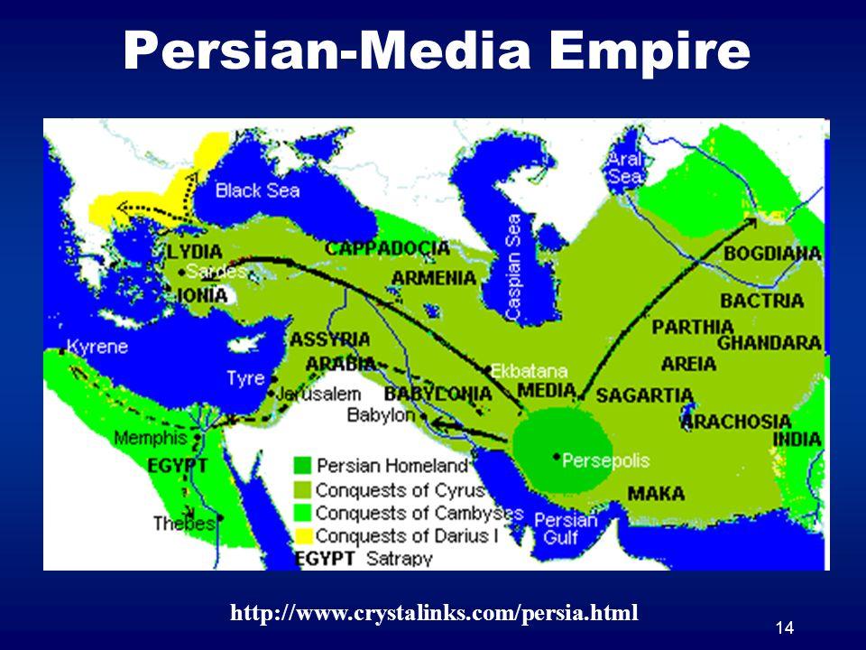 14 Persian-Media Empire http://www.crystalinks.com/persia.html