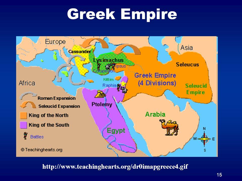15 Greek Empire http://www.teachinghearts.org/dr0imapgreece4.gif