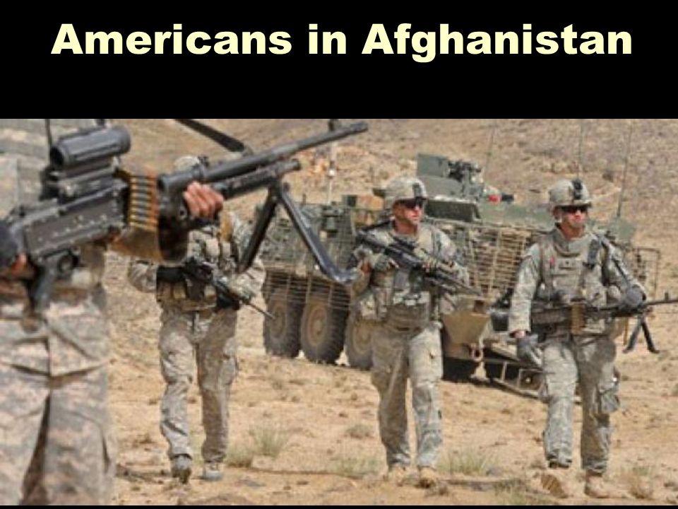 Americans in Afghanistan