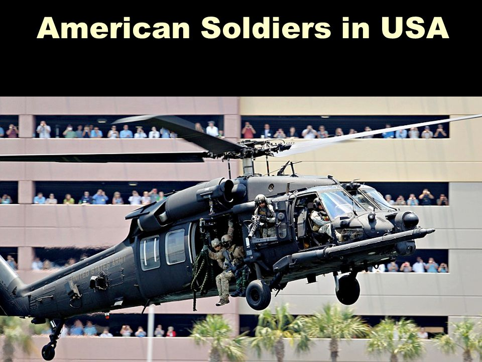 American Soldiers in USA
