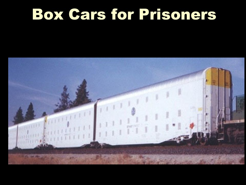 Box Cars for Prisoners