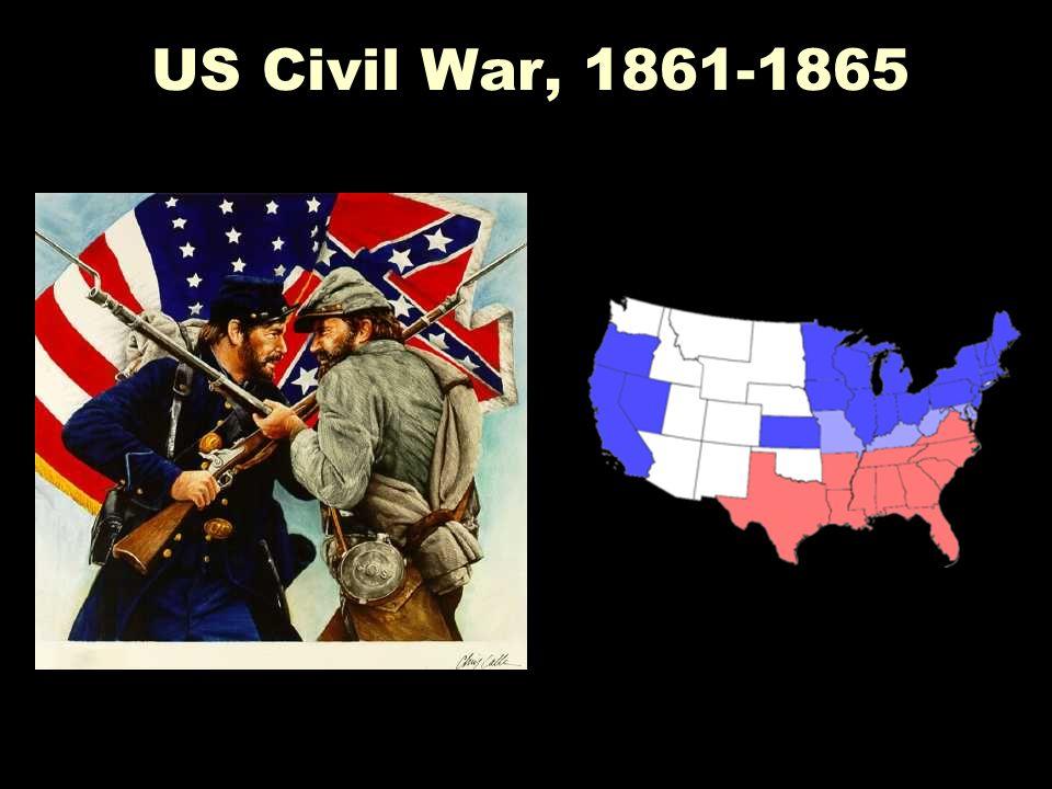 US Civil War, 1861-1865