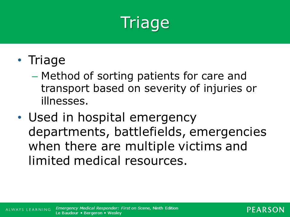 Copyright ©2012 by Pearson Education, Inc. All rights reserved. Emergency Care, Twelfth Edition Daniel J. Limmer OKeefe Grant Murray Bergeron Dickinso