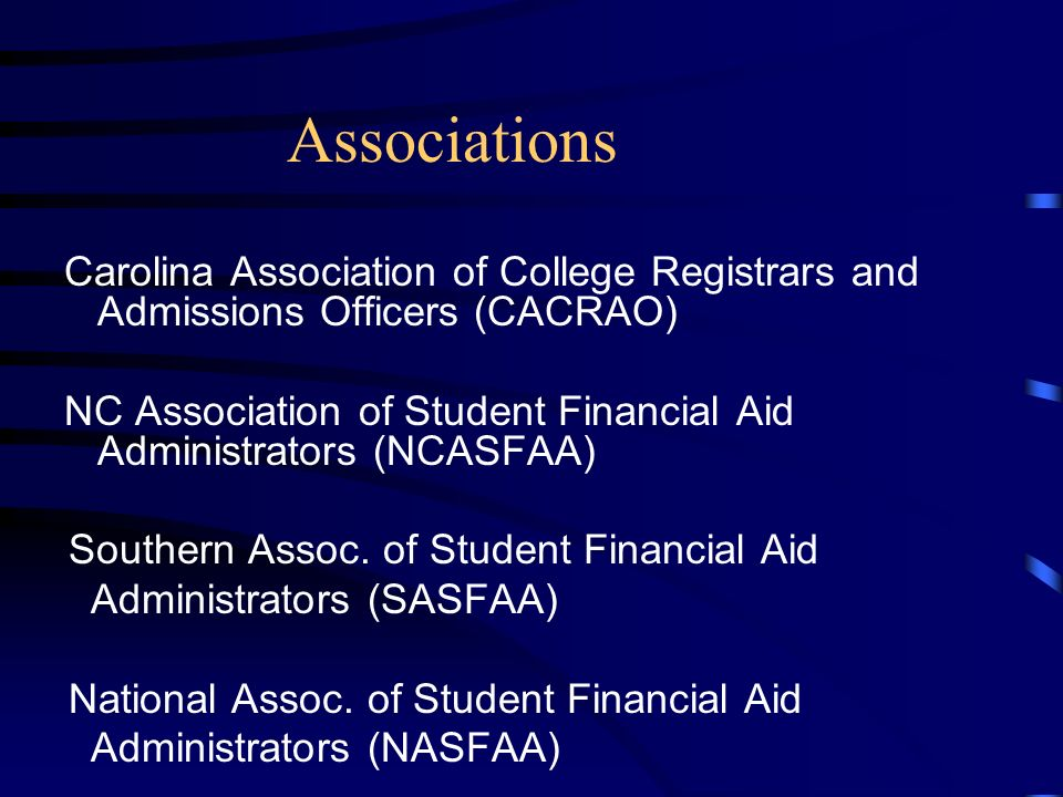 Student Development Services Partnerships NC State Education Assistance Authority College Foundation, Inc. NC Independent Colleges