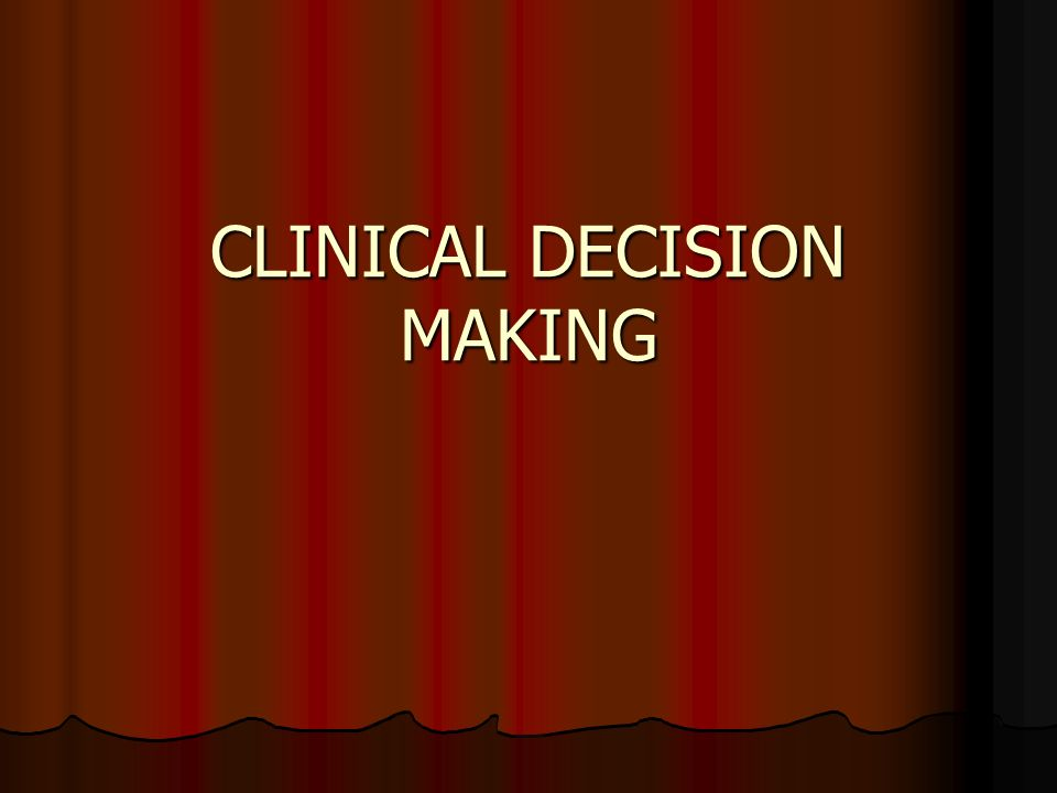 Critical Decision Making You will confront a situation that requires you to make a critical decision EMT-A as prehospital practitioners of emergency medicine Need for critical decision making Situations will appear totally unfamiliar patients do not read the textbook