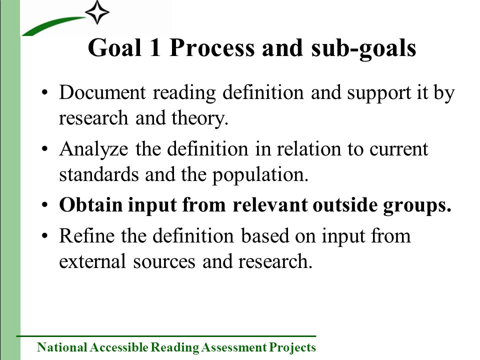 National Accessible Reading Assessment Projects Mental Retardation Readers with mental retardation have difficulty decoding, but can understand text through other strategies.