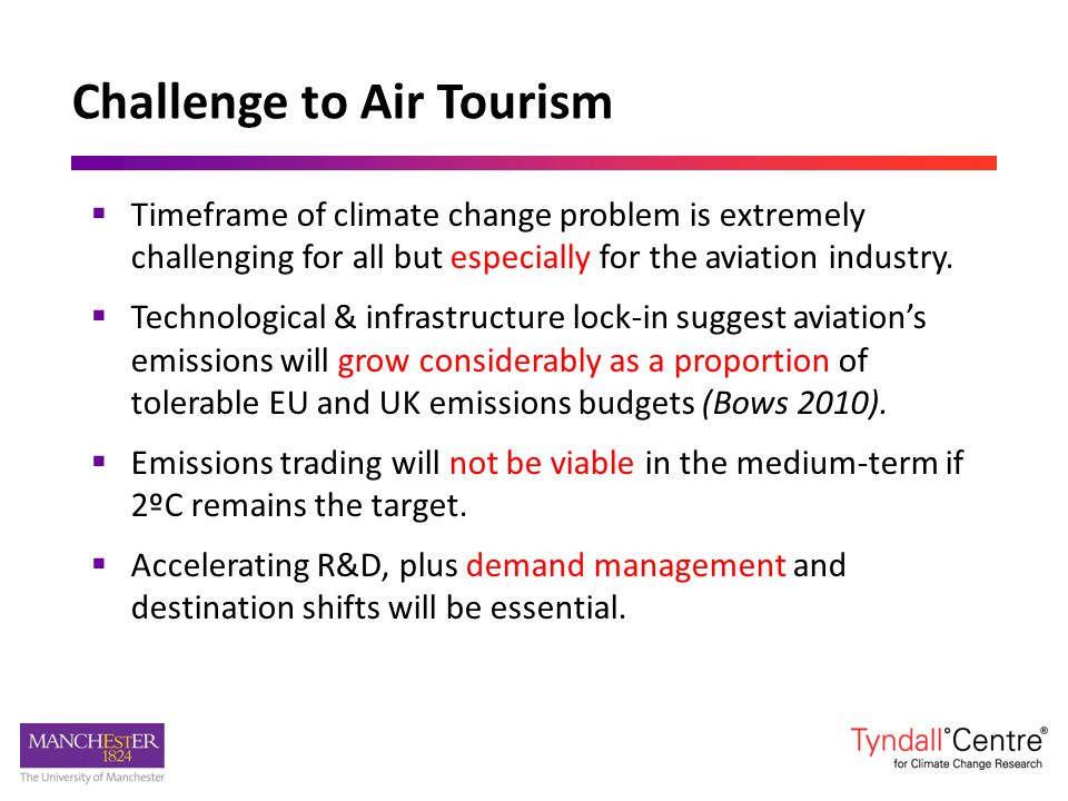 Conclusions Timeframe of climate change problem is extremely challenging for all but especially for the aviation industry. Technological & infrastruct