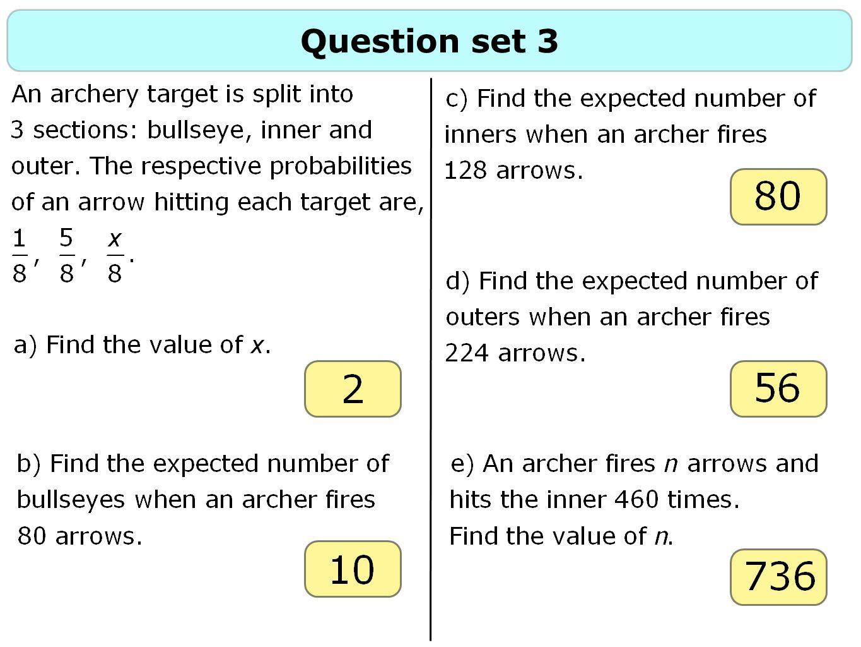 Question set 3