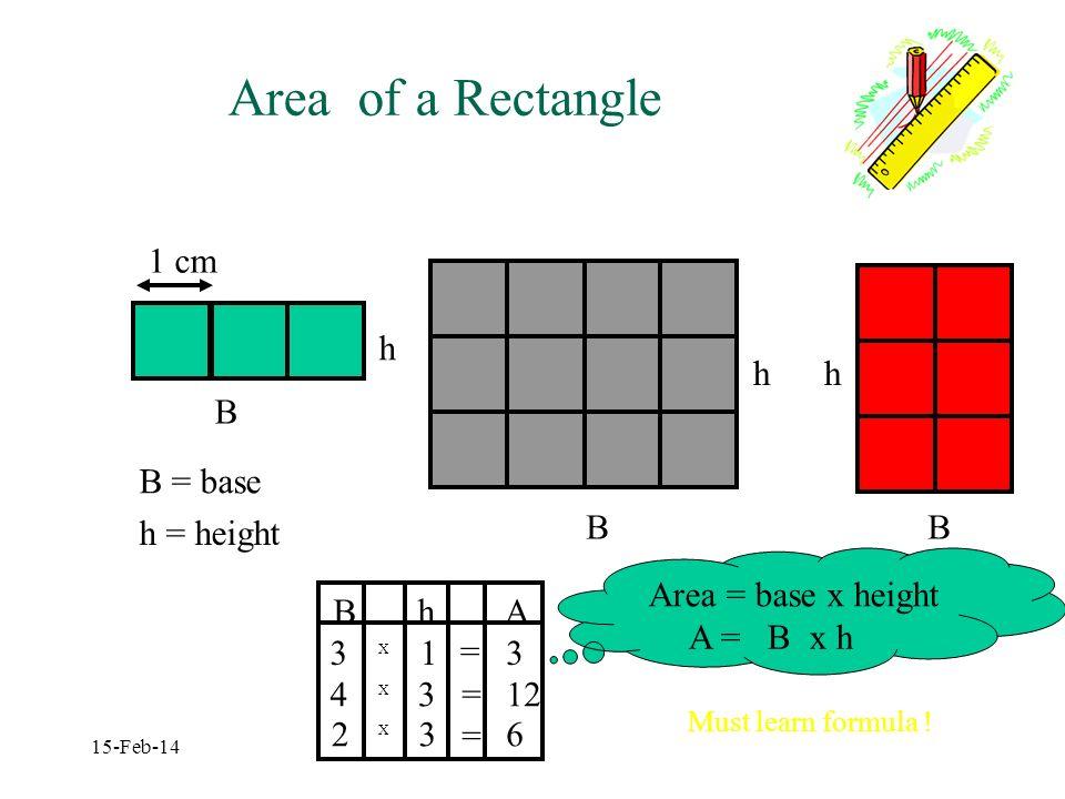 Areas Grade 7 - CIC