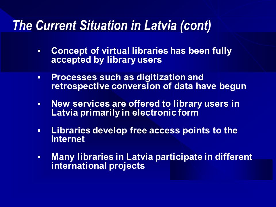 Building a New National Library Library Functions Librarys functional program needs based on an analysis of the requirements of 21 st century library functions and structures User areas with: 1,200 computer-ready reader stations 335,000 volume open stack shelving access Stack core providing: Compact storage for 6,165,000 volumes (including space for a 25 year reserve) Work rooms for 400 employees