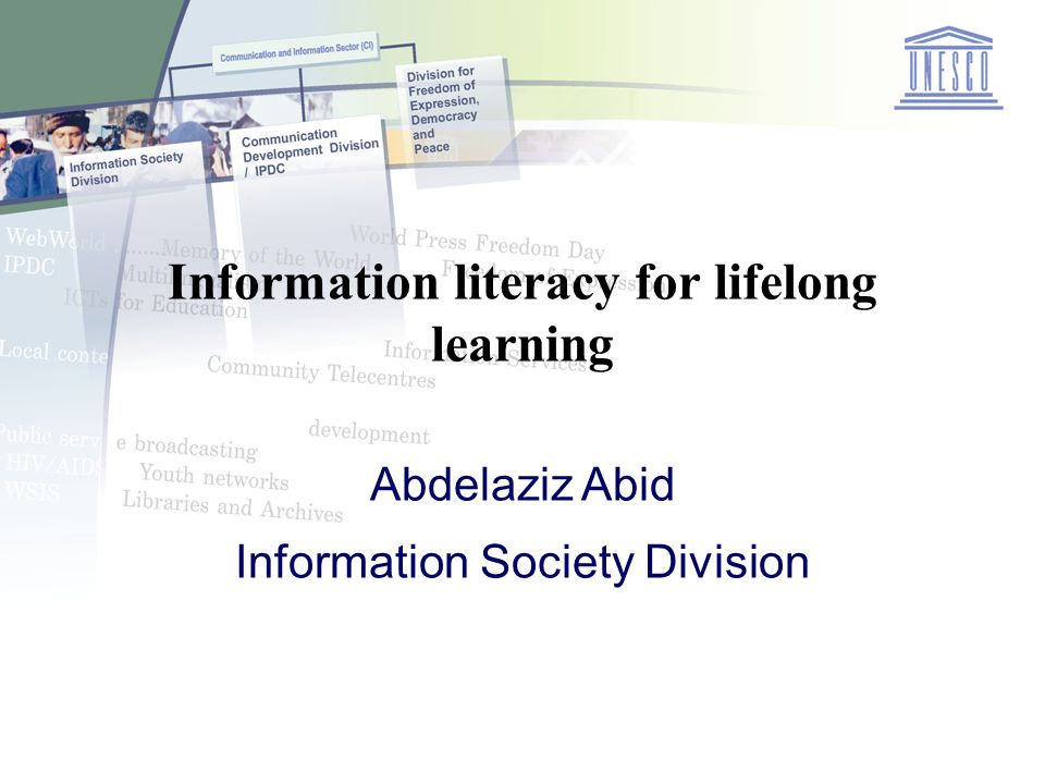 Thematic Debate Invited experts addressed four key questions: What is Information Literacy.