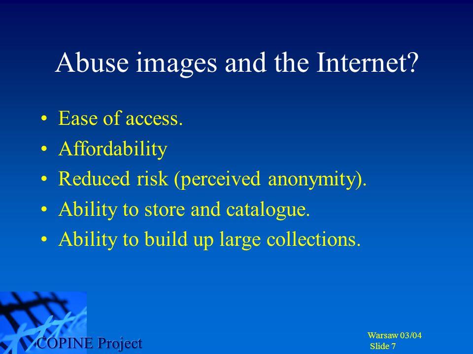 Warsaw 03/04 Slide 8 Impact of viewing on behaviour.
