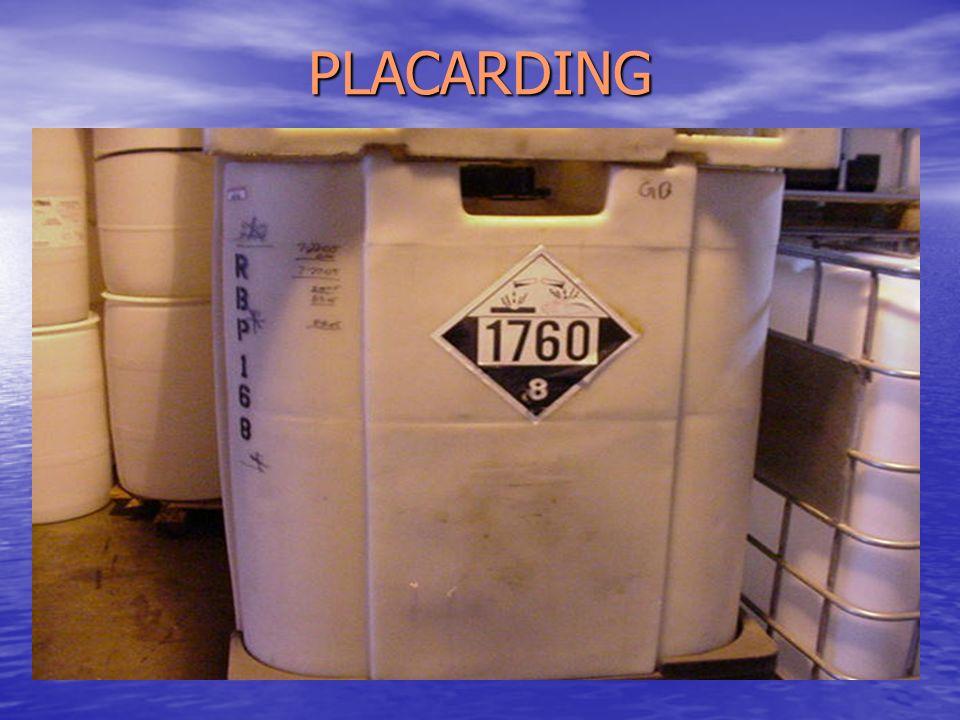 PLACARDING