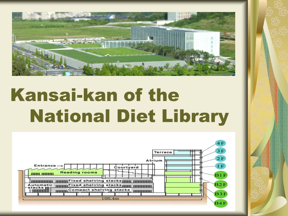 Kansai-kan of the National Diet Library