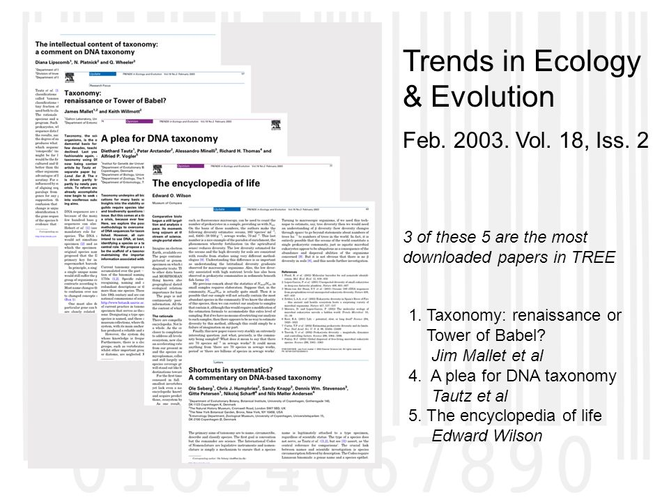 Trends in Ecology & Evolution Feb Vol. 18, Iss.
