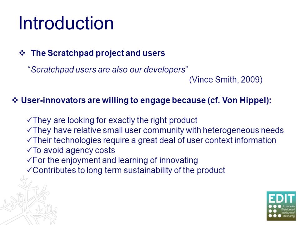 Your data 1 Published & reviewed on your site 3 Uploaded & tagged 2 What is a Scratchpad.