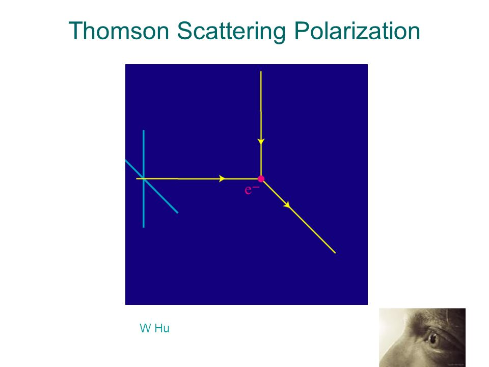 Thomson Scattering Polarization W Hu