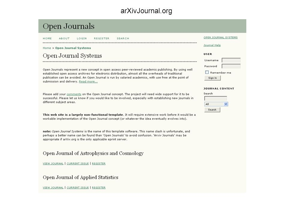 arXivJournal.org
