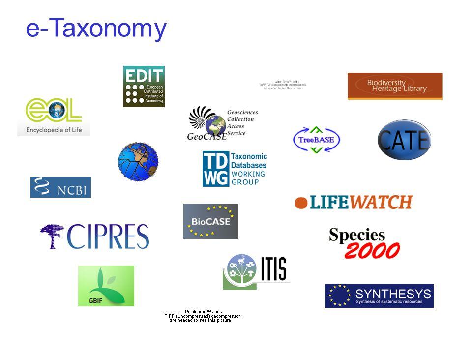 e-Taxonomy